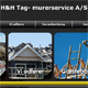 Gå til hjemmesiden for H&H Tag-murerservice A/S